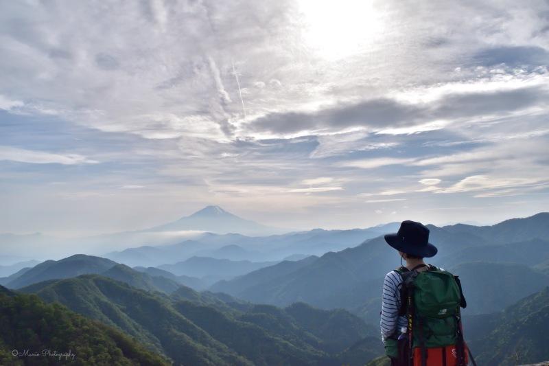 山頂からの富士_f0321522_20425812.jpg