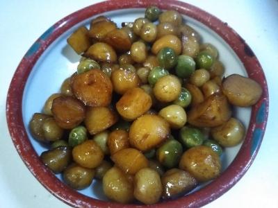 豆のようなじゃが芋料理!?_c0330749_07364241.jpg