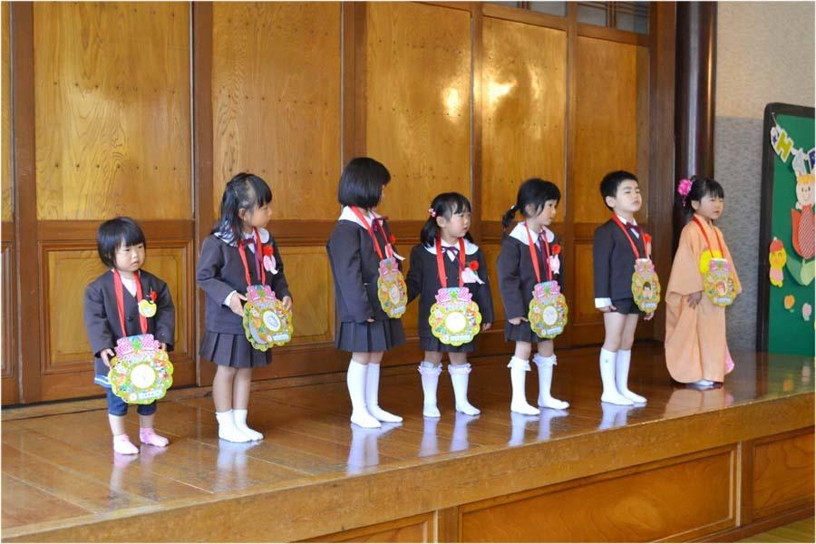 第一幼稚園 4月・5月生れのお誕生会でした。_d0353789_11573460.jpg