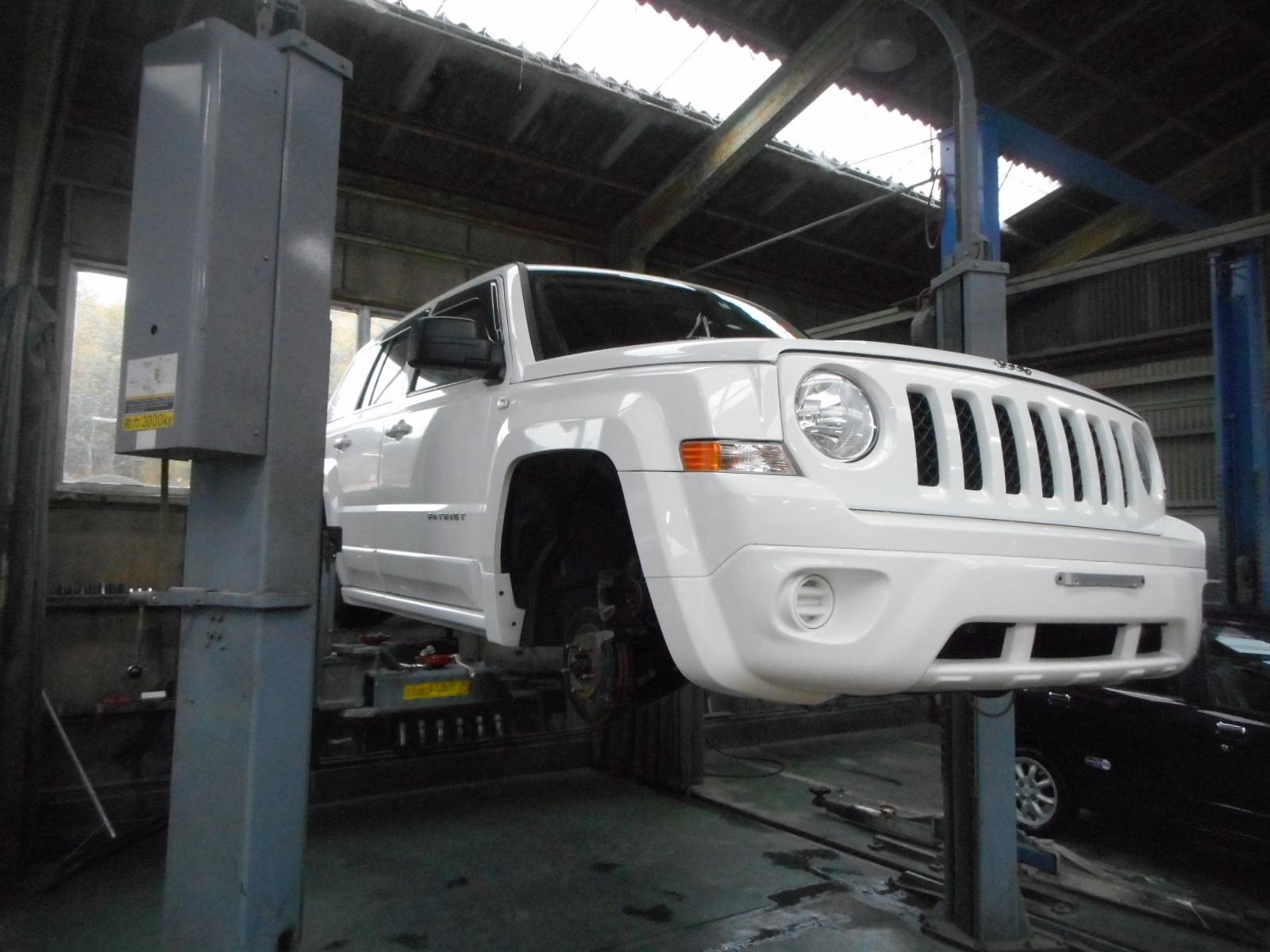 JEEP パトリオット 納車車検整備_c0267693_16584083.jpg