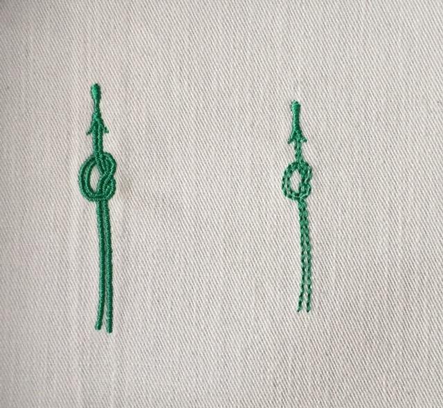 松葉の刺繍♪_c0316026_18450393.jpg