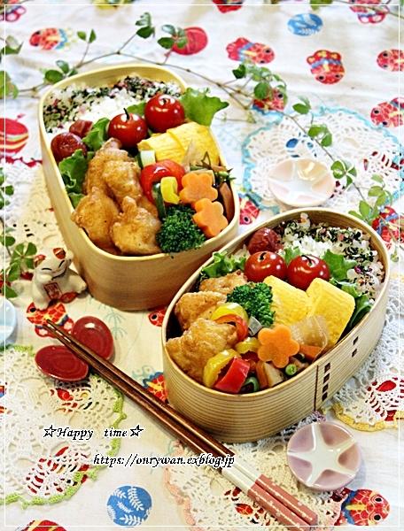 からあげ弁当と今夜は麻婆豆腐♪_f0348032_18375975.jpg