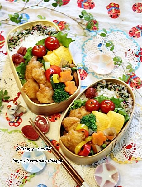 からあげ弁当と今夜は麻婆豆腐♪_f0348032_18380857.jpg