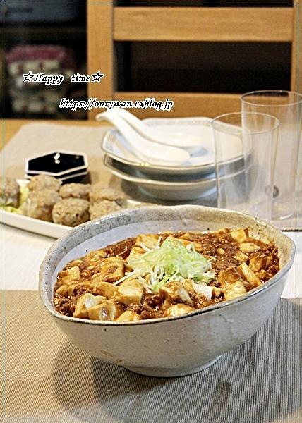 からあげ弁当と今夜は麻婆豆腐♪_f0348032_18381586.jpg