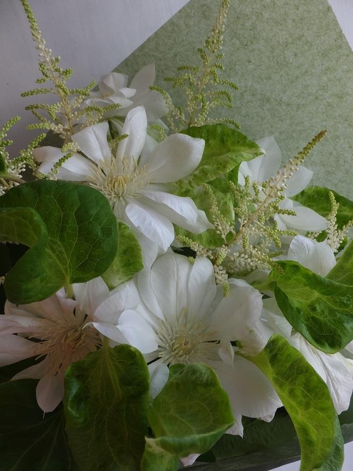 オークリーフ(母の日の花束)_f0049672_15440196.jpg