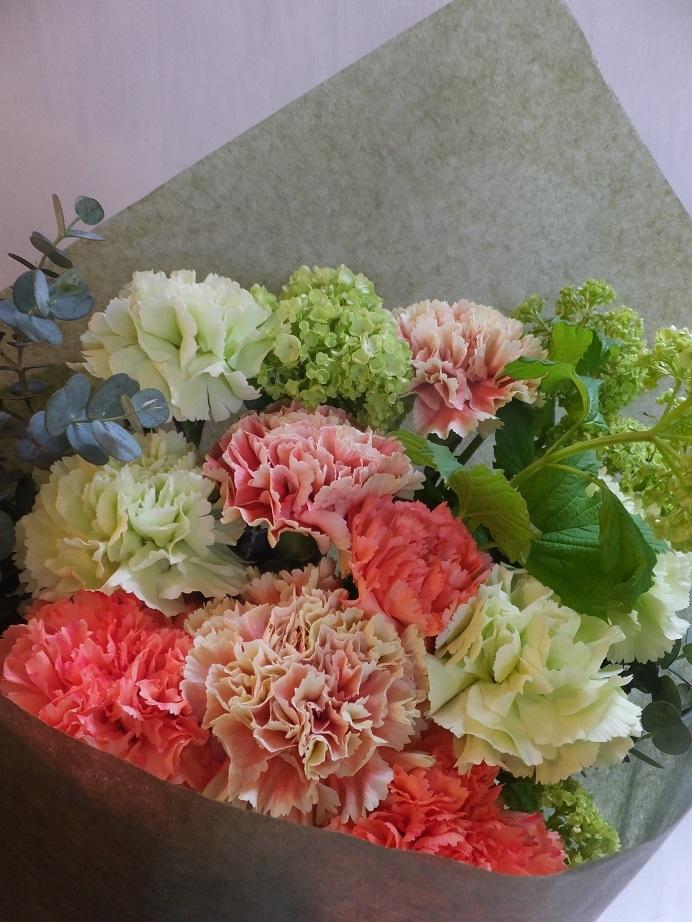 オークリーフ(母の日の花束)_f0049672_16310116.jpg