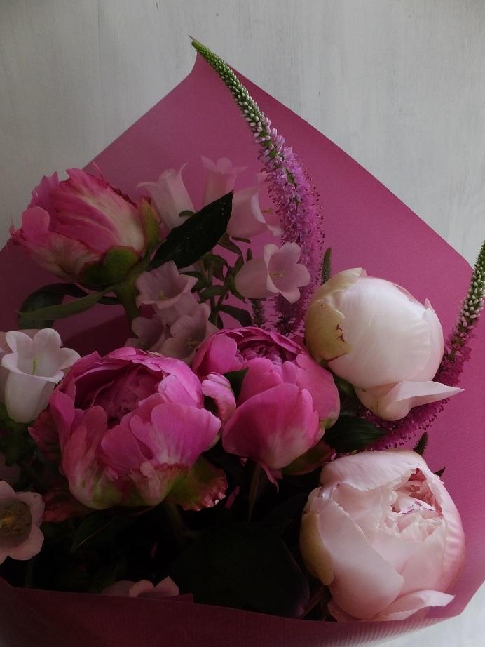 オークリーフ(母の日の花束)_f0049672_16323268.jpg