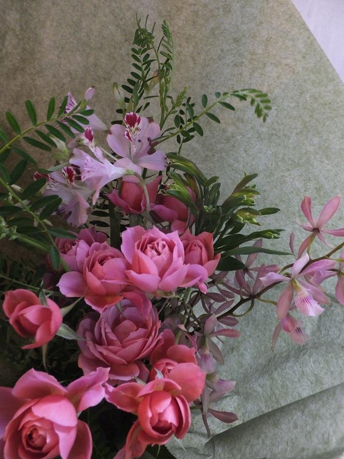 オークリーフ(母の日の花束)_f0049672_16324435.jpg