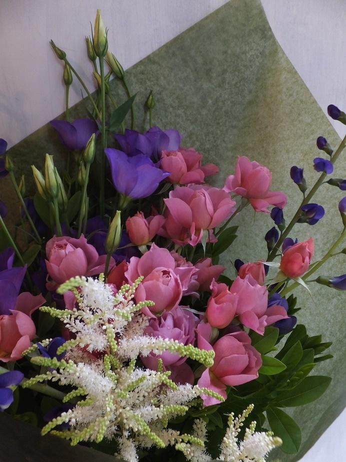 オークリーフ(母の日の花束)_f0049672_16325136.jpg