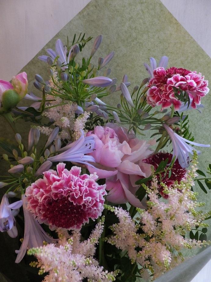 オークリーフ(母の日の花束)_f0049672_16330369.jpg