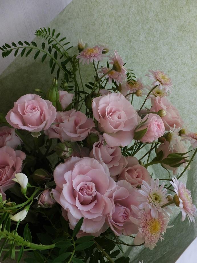 オークリーフ(母の日の花束)_f0049672_16331719.jpg