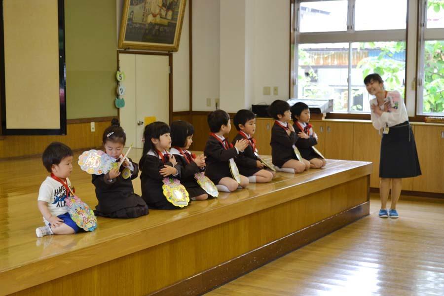 第二幼稚園 4月・5月生れお誕生会_d0353789_15520024.jpg
