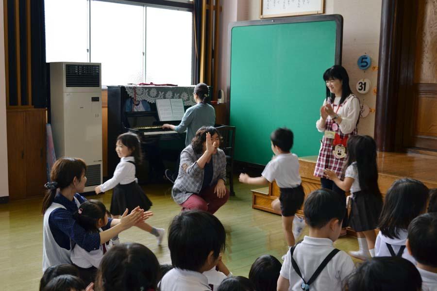 卒園児の 宮野恭輔さんが当園を訪れました。_d0353789_16022849.jpg