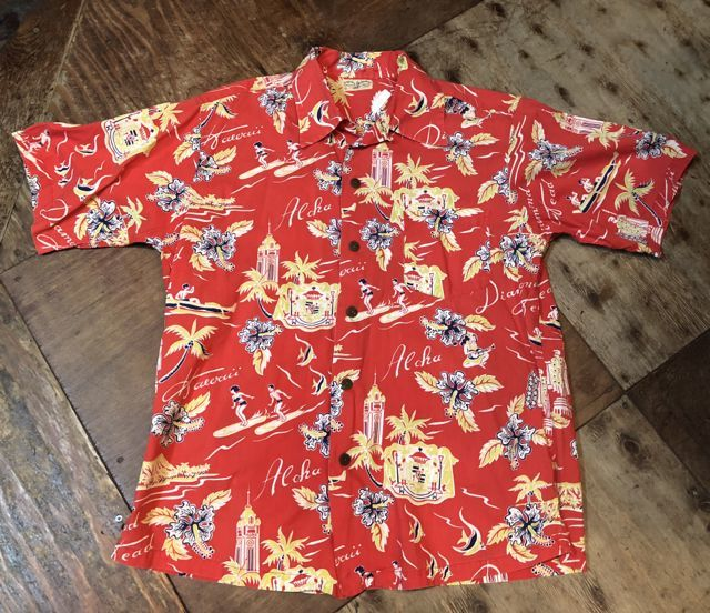 6月2日(土)入荷40s〜 Surfriders all cotton Hawaiian shirts! ハワイアンシャツ!_c0144020_17163567.jpg