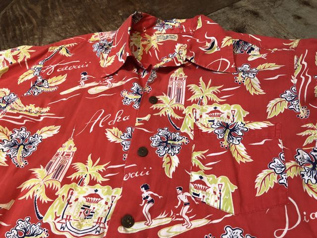 6月2日(土)入荷40s〜 Surfriders all cotton Hawaiian shirts! ハワイアンシャツ!_c0144020_17163928.jpg
