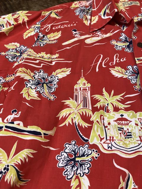 6月2日(土)入荷40s〜 Surfriders all cotton Hawaiian shirts! ハワイアンシャツ!_c0144020_17164496.jpg