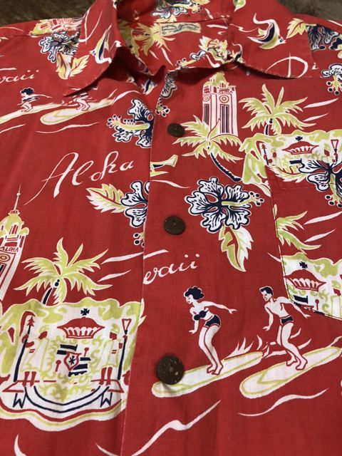 6月2日(土)入荷40s〜 Surfriders all cotton Hawaiian shirts! ハワイアンシャツ!_c0144020_17164661.jpg