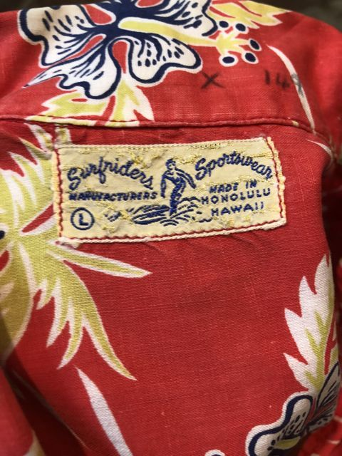 6月2日(土)入荷40s〜 Surfriders all cotton Hawaiian shirts! ハワイアンシャツ!_c0144020_17164813.jpg