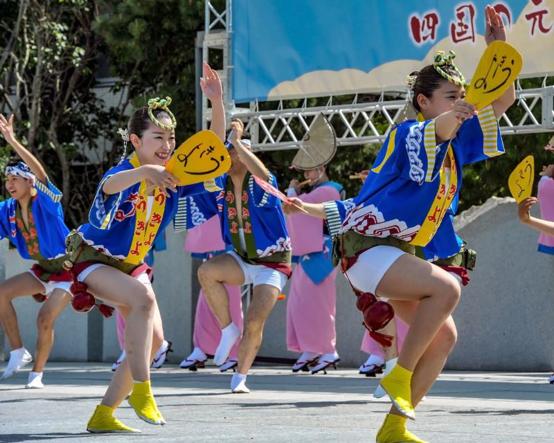 四国の祭り 2018  うきよ連「徳島県 阿波踊り」_d0246136_19555059.jpg