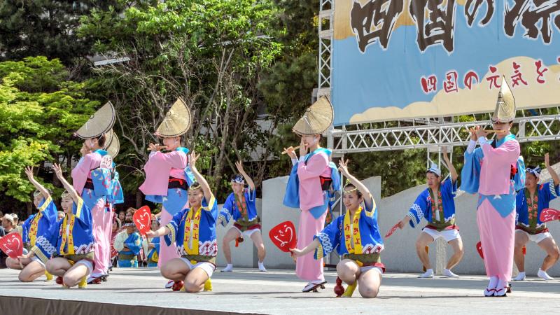 四国の祭り 2018  うきよ連「徳島県 阿波踊り」_d0246136_19555853.jpg