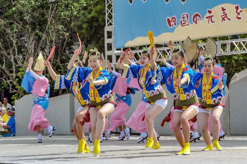 四国の祭り 2018  うきよ連「徳島県 阿波踊り」_d0246136_19561075.jpg
