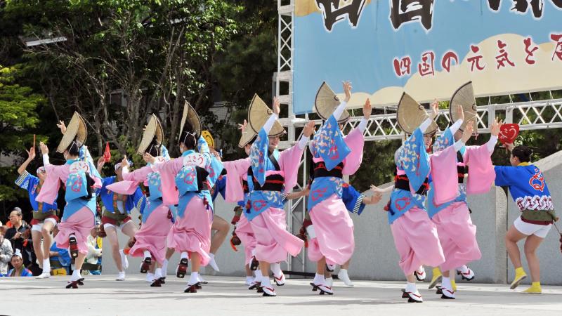 四国の祭り 2018  うきよ連「徳島県 阿波踊り」_d0246136_19561578.jpg