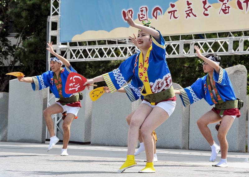 四国の祭り 2018  うきよ連「徳島県 阿波踊り」_d0246136_19563314.jpg