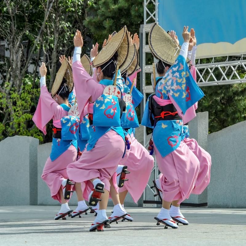 四国の祭り 2018  うきよ連「徳島県 阿波踊り」_d0246136_19564616.jpg