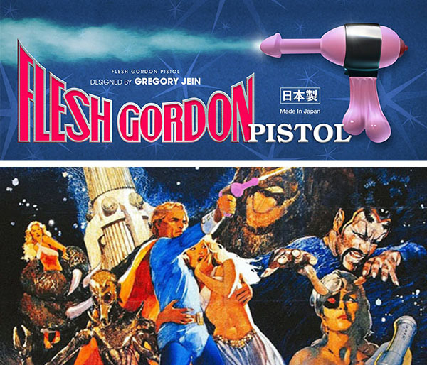 Sofubi Flesh Gordon Pistol ORIGINAL color by Gregory Jein_e0118156_14391753.jpg