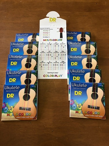 DR / UKULELE MULTI COLOR 弦_f0396756_16212793.jpg