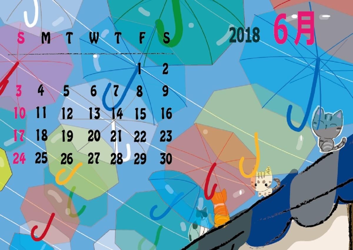 2018年カレンダー6月_a0333195_23154260.jpg