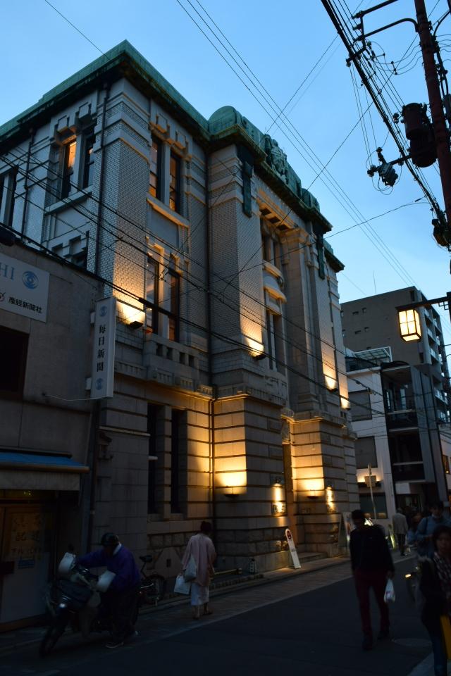 旧不動貯金銀行京都三条支店(大正モダン建築再訪)_f0142606_07380144.jpg