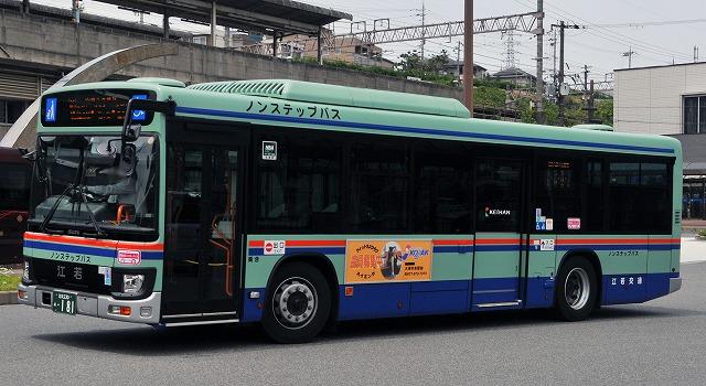 江若交通~新型エルガ・ノンステップバス_a0164734_16474137.jpg