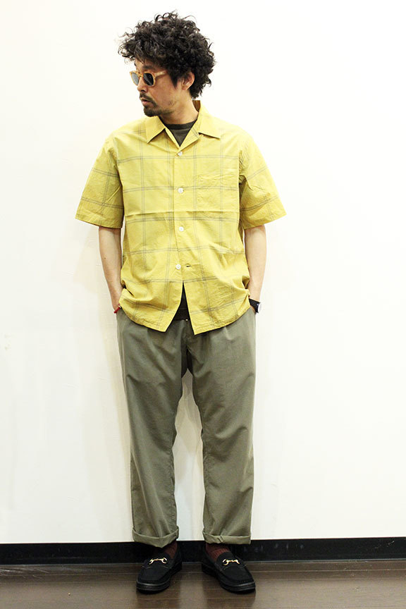 """TOWN CRAFT (タウンクラフト) \"""" classic check open ss shirts \""""_b0122806_15160775.jpg"""