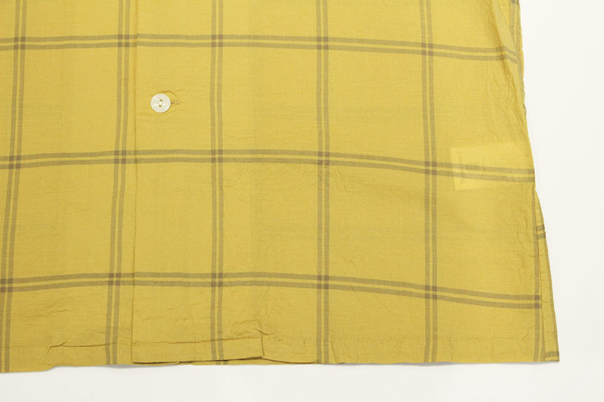 """TOWN CRAFT (タウンクラフト) \"""" classic check open ss shirts \""""_b0122806_15180414.jpg"""