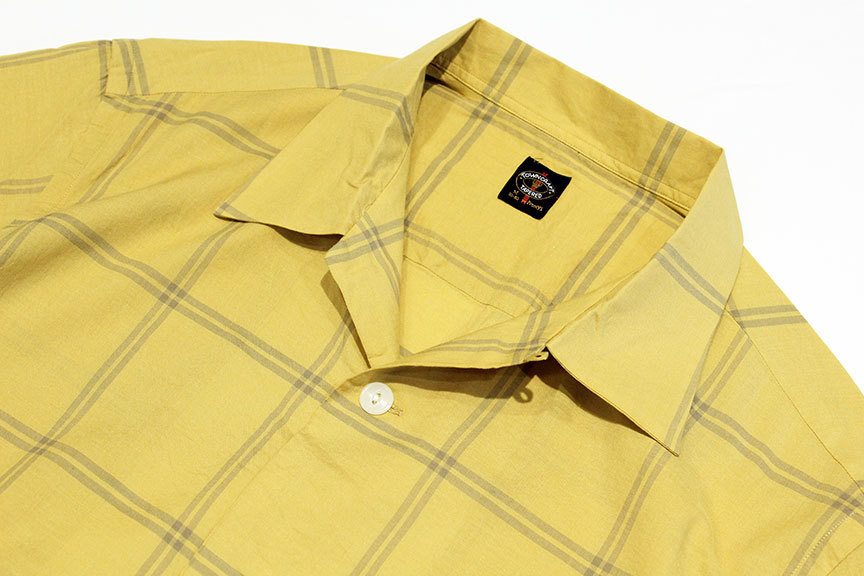 """TOWN CRAFT (タウンクラフト) \"""" classic check open ss shirts \""""_b0122806_15181909.jpg"""