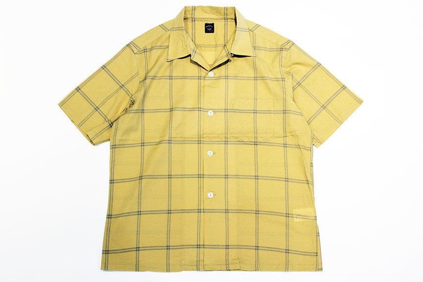 """TOWN CRAFT (タウンクラフト) \"""" classic check open ss shirts \""""_b0122806_15182302.jpg"""