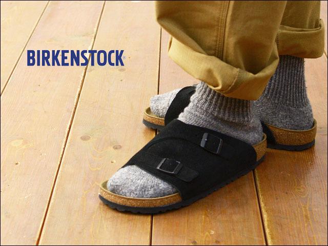 BIRKENSTOCK [ビルケンシュトック正規販売店] ZURICH NARROW TAUPE [050463] 【ワイズ ナロータイプ】チューリッヒブラック スウェード MEN\'S/LADY\'S_f0051306_17460786.jpg