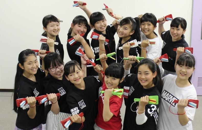 よさこい踊り子隊SUNNYSの説明会で県民会議をPR!_d0375307_10152956.jpg