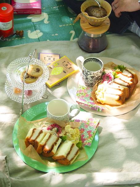 ピクニックティー&コーヒーの日曜日_e0396727_17131648.jpg