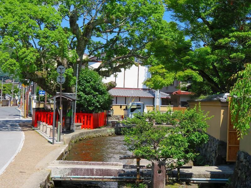 上賀茂神社社家町と大田神社20180601_e0237645_21571021.jpg
