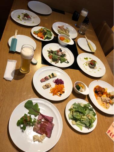 ゆと森倶楽部、野菜たっぷりの夕食。_f0207146_07504926.jpg