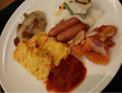 ゆと森倶楽部で朝食♪サービスエリアでメロンジュース(笑)_f0207146_18175096.jpg