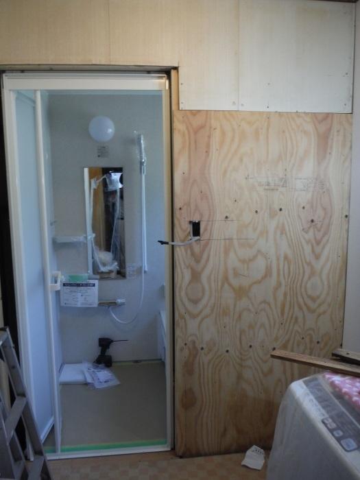 浴室リフォーム~ユニットバス使用できます。_d0165368_13443558.jpg