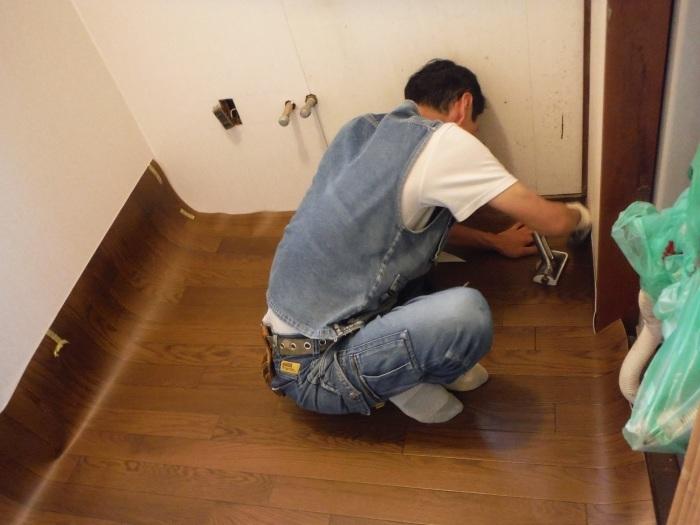 浴室リフォーム~ユニットバス使用できます。_d0165368_13453563.jpg