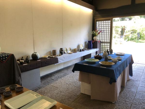 陶芸展、くらふてぃあ杜の市 お礼_c0131107_19544097.jpg