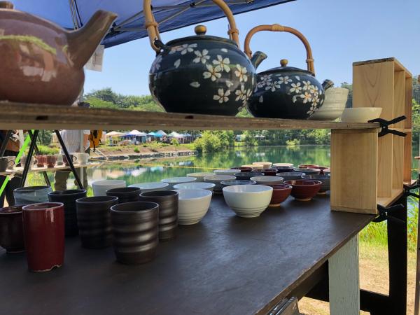 陶芸展、くらふてぃあ杜の市 お礼_c0131107_19552354.jpg