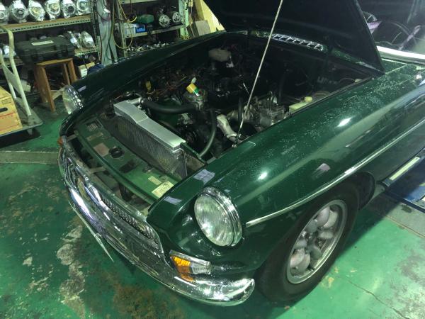 MGBのエンジン不調の修理 電気系_e0169210_04400424.jpg