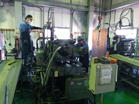 鋳造現場の確認試験_e0045139_09465025.jpg