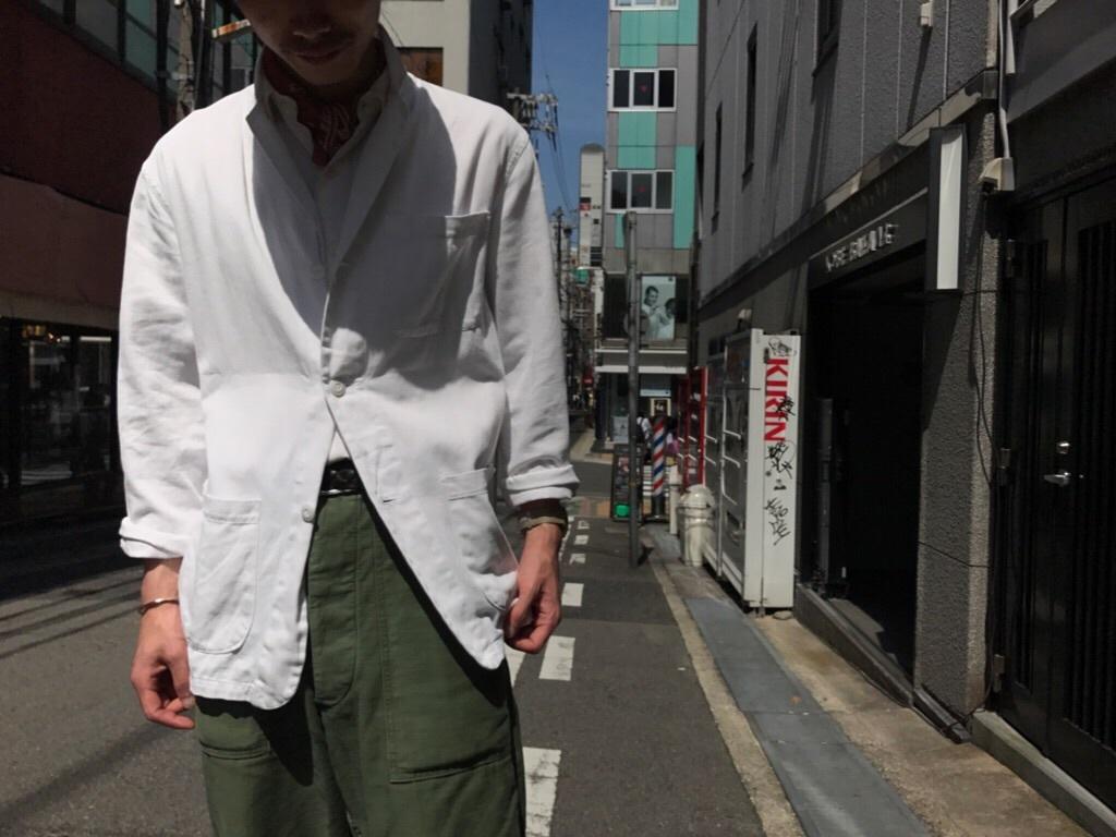 雨天時にも、気分良く過ごせるジャケット! (T.W.神戸店)_c0078587_14174904.jpg